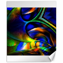 Light Texture Abstract Background Canvas 11  X 14