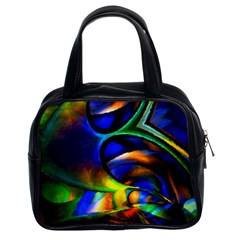 Light Texture Abstract Background Classic Handbags (2 Sides)
