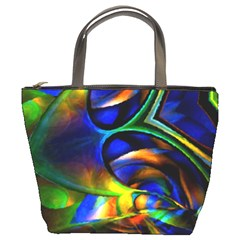 Light Texture Abstract Background Bucket Bags