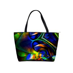 Light Texture Abstract Background Shoulder Handbags