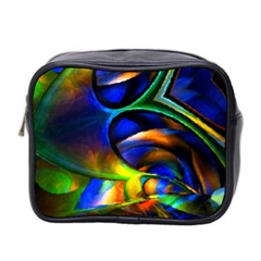 Light Texture Abstract Background Mini Toiletries Bag 2 Side
