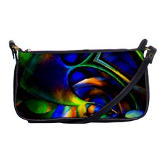Light Texture Abstract Background Shoulder Clutch Bags