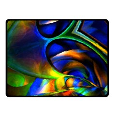 Light Texture Abstract Background Fleece Blanket (small)