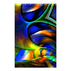 Light Texture Abstract Background Shower Curtain 48  X 72  (small)