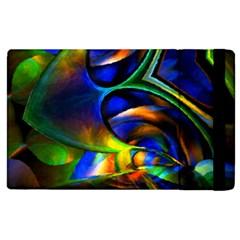 Light Texture Abstract Background Apple Ipad 3/4 Flip Case