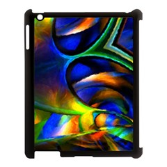 Light Texture Abstract Background Apple Ipad 3/4 Case (black)