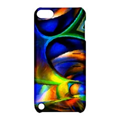 Light Texture Abstract Background Apple Ipod Touch 5 Hardshell Case With Stand