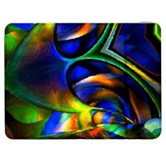 Light Texture Abstract Background Samsung Galaxy Tab 7  P1000 Flip Case