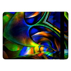 Light Texture Abstract Background Samsung Galaxy Tab Pro 12 2  Flip Case
