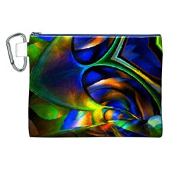 Light Texture Abstract Background Canvas Cosmetic Bag (xxl)