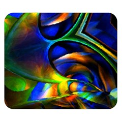 Light Texture Abstract Background Double Sided Flano Blanket (small)