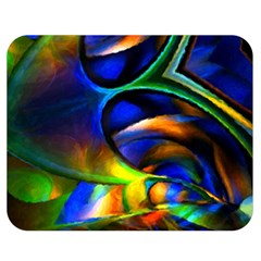 Light Texture Abstract Background Double Sided Flano Blanket (medium)