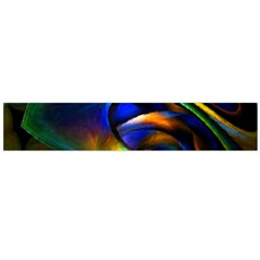 Light Texture Abstract Background Flano Scarf (large)