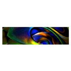 Light Texture Abstract Background Satin Scarf (oblong)
