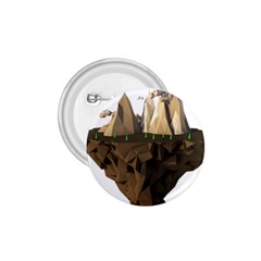 Low Poly Floating Island 3d Render 1 75  Buttons