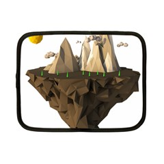 Low Poly Floating Island 3d Render Netbook Case (Small)