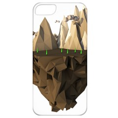 Low Poly Floating Island 3d Render Apple Iphone 5 Classic Hardshell Case