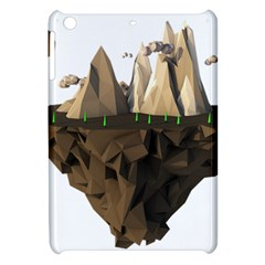 Low Poly Floating Island 3d Render Apple Ipad Mini Hardshell Case