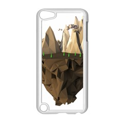 Low Poly Floating Island 3d Render Apple Ipod Touch 5 Case (white)