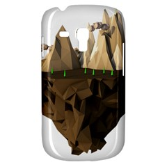 Low Poly Floating Island 3d Render Galaxy S3 Mini