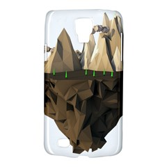 Low Poly Floating Island 3d Render Galaxy S4 Active