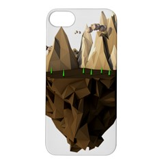 Low Poly Floating Island 3d Render Apple Iphone 5s/ Se Hardshell Case