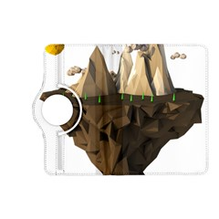 Low Poly Floating Island 3d Render Kindle Fire Hd (2013) Flip 360 Case