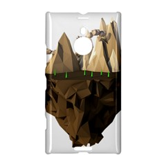 Low Poly Floating Island 3d Render Nokia Lumia 1520