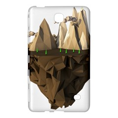 Low Poly Floating Island 3d Render Samsung Galaxy Tab 4 (7 ) Hardshell Case