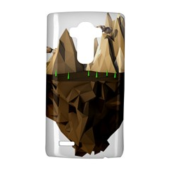 Low Poly Floating Island 3d Render Lg G4 Hardshell Case