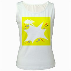 Mail Holyday Vacation Frame Women s White Tank Top