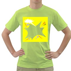 Mail Holyday Vacation Frame Green T Shirt