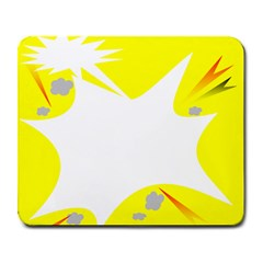 Mail Holyday Vacation Frame Large Mousepads