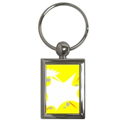 Mail Holyday Vacation Frame Key Chains (rectangle)