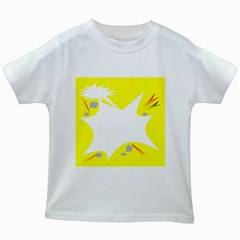 Mail Holyday Vacation Frame Kids White T Shirts
