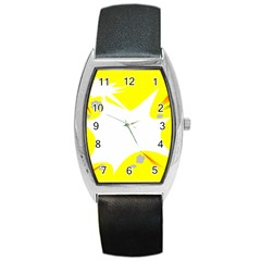 Mail Holyday Vacation Frame Barrel Style Metal Watch