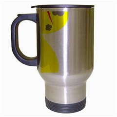 Mail Holyday Vacation Frame Travel Mug (silver Gray)