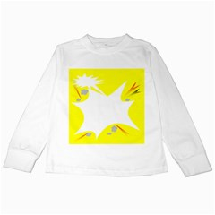 Mail Holyday Vacation Frame Kids Long Sleeve T Shirts
