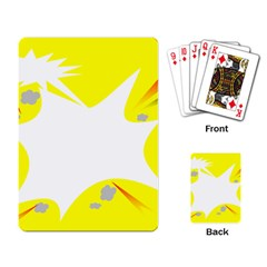 Mail Holyday Vacation Frame Playing Card