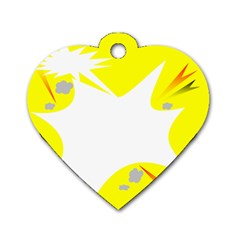 Mail Holyday Vacation Frame Dog Tag Heart (one Side)