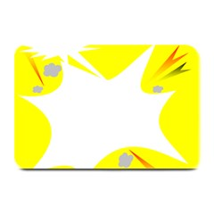 Mail Holyday Vacation Frame Plate Mats