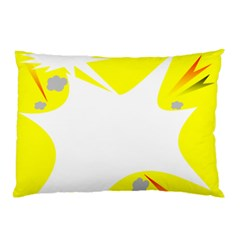 Mail Holyday Vacation Frame Pillow Case
