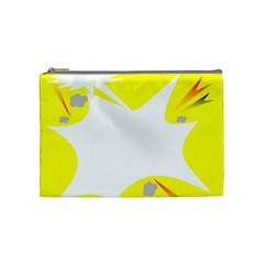 Mail Holyday Vacation Frame Cosmetic Bag (medium)