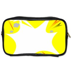 Mail Holyday Vacation Frame Toiletries Bags 2 Side