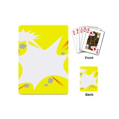 Mail Holyday Vacation Frame Playing Cards (mini)