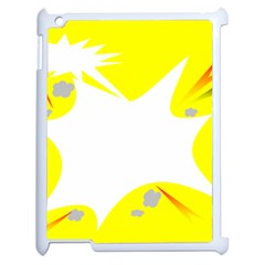 Mail Holyday Vacation Frame Apple Ipad 2 Case (white)