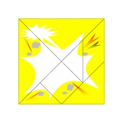 Mail Holyday Vacation Frame Acrylic Tangram Puzzle (4  X 4 )