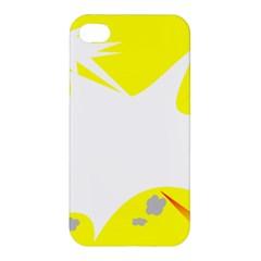 Mail Holyday Vacation Frame Apple Iphone 4/4s Premium Hardshell Case