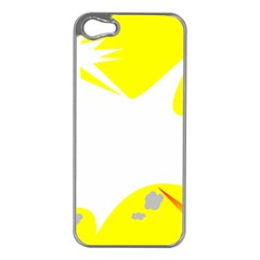 Mail Holyday Vacation Frame Apple Iphone 5 Case (silver)