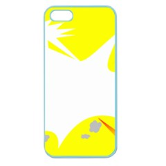Mail Holyday Vacation Frame Apple Seamless Iphone 5 Case (color)